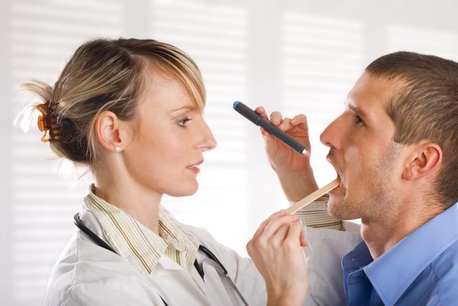 диагностика невроза глотки