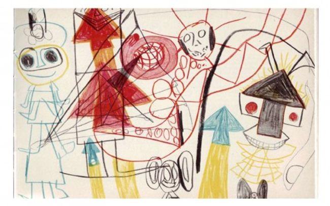 рисунок ребенка-шизофреника 1