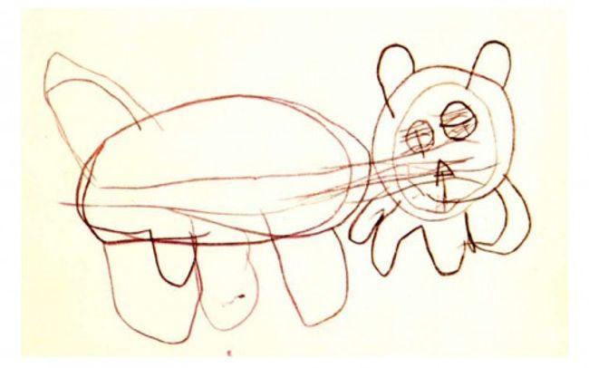 рисунок ребенка-шизофреника 2