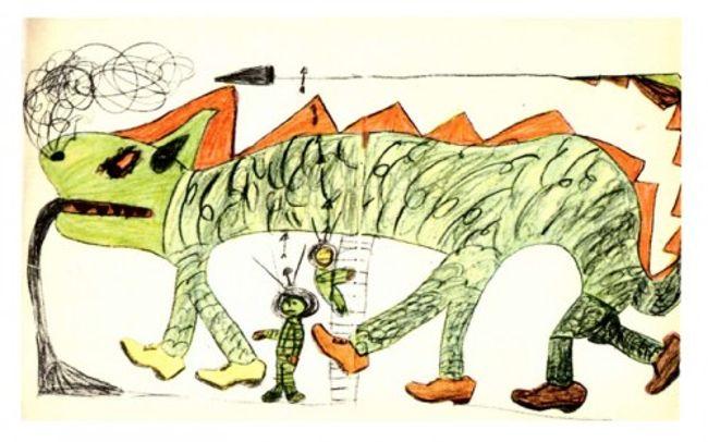 рисунок ребенка-шизофреника 3