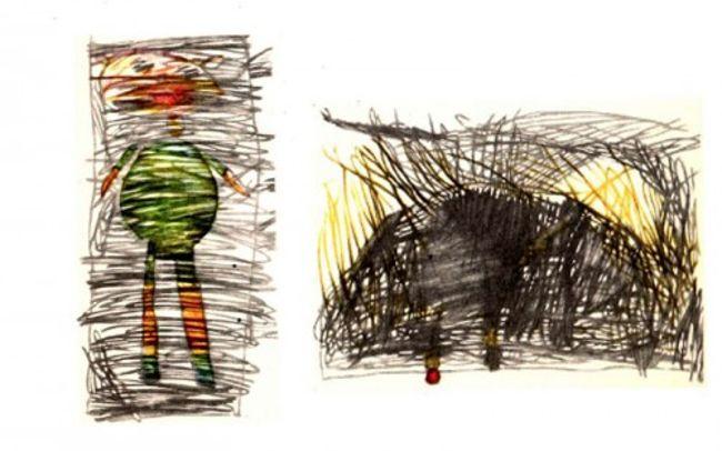 рисунок ребенка-шизофреника 4