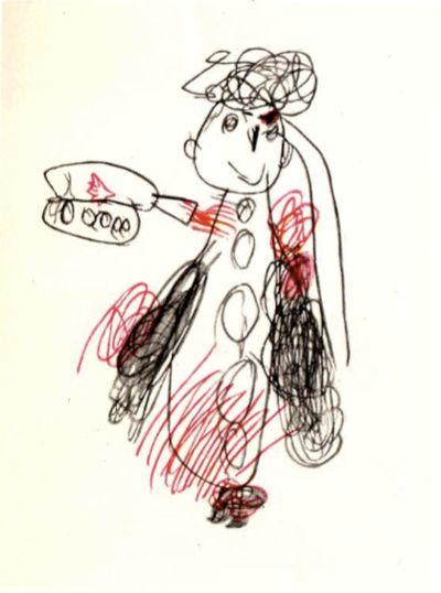 рисунок ребенка-шизофреника 5