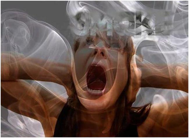 шизофреник-курильщица