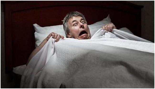 шизофреник в постели