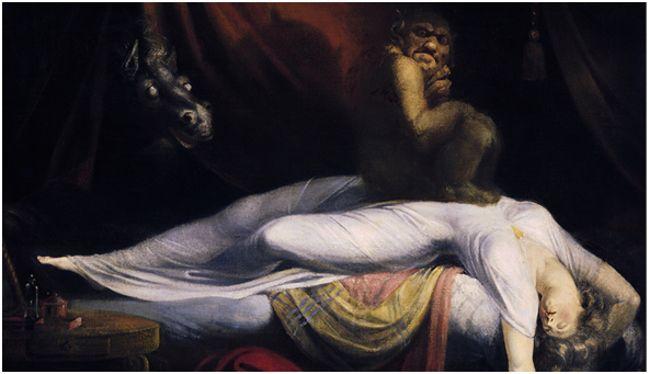 картина демоны