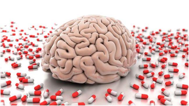 мозг и таблетки