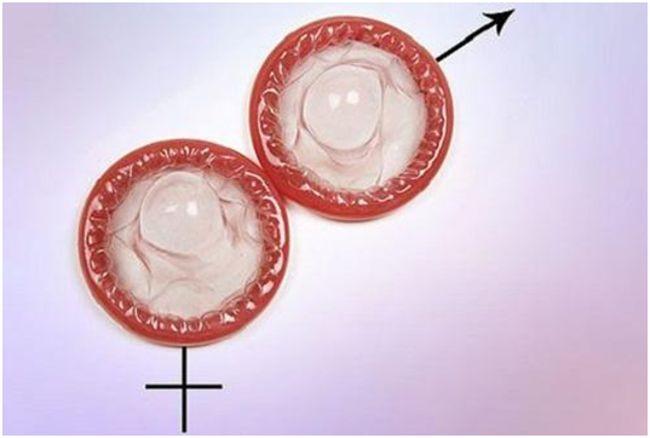 презервативы в виде половых знаков