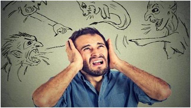 бесы в голове у мужчины