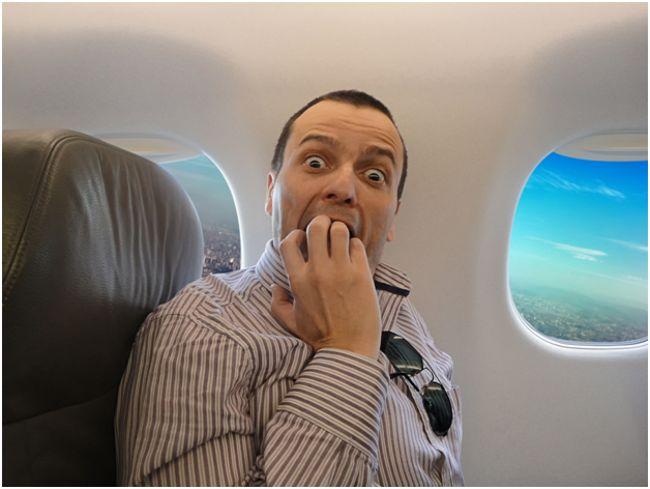 невротик в самолете