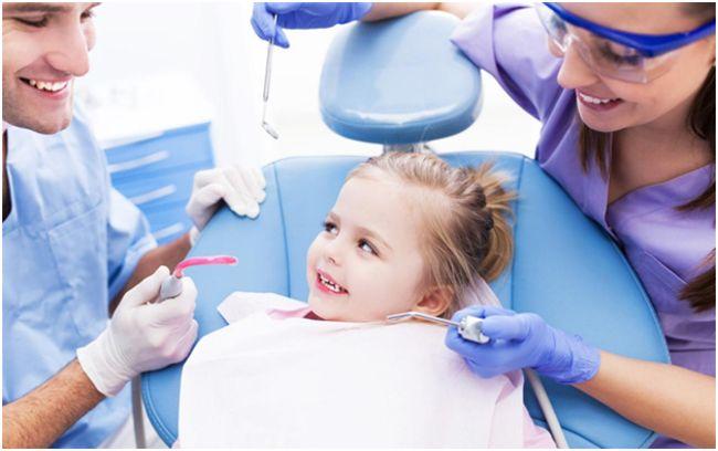 девочка не боящаяся стоматологов