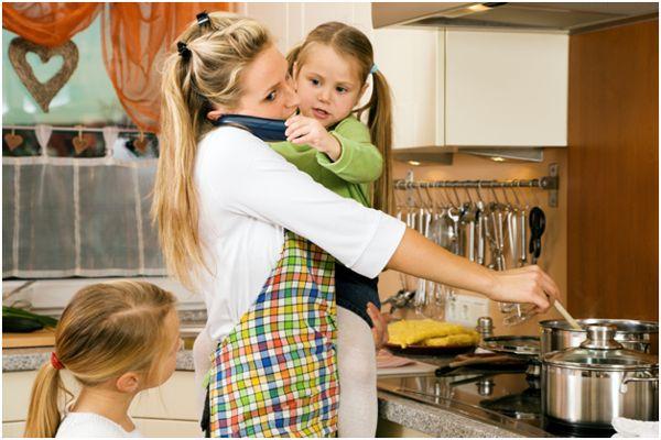домохозяйка и дети