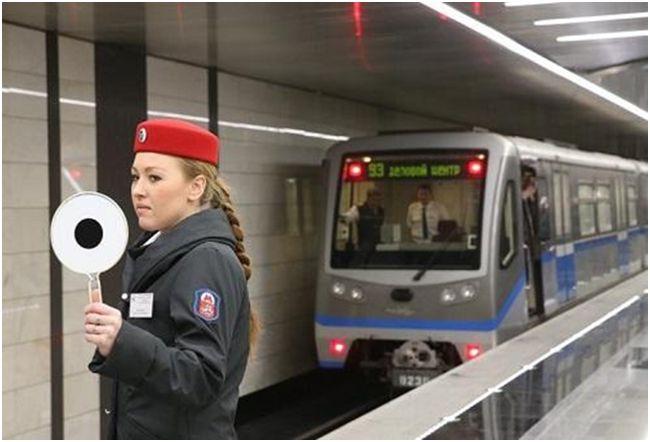 сотрудник метрополитена