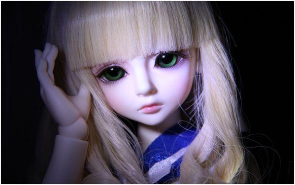 взгляд куклы